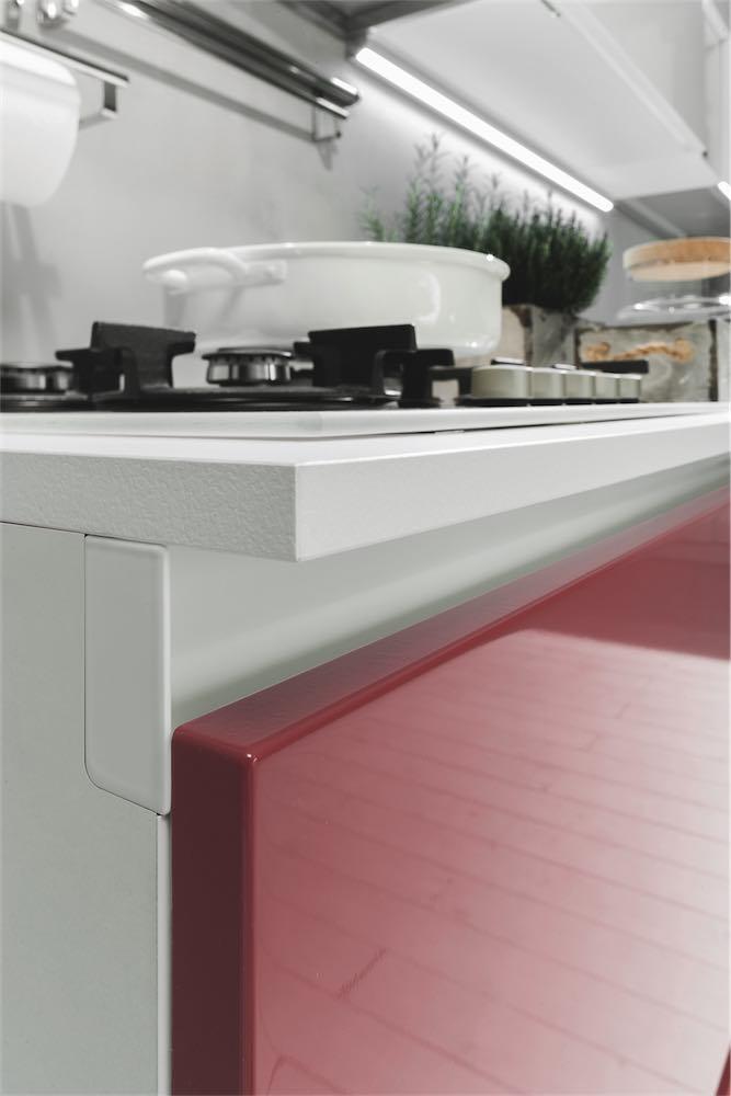 Cucine moderne bicolore | Aurora | EVO Cucine