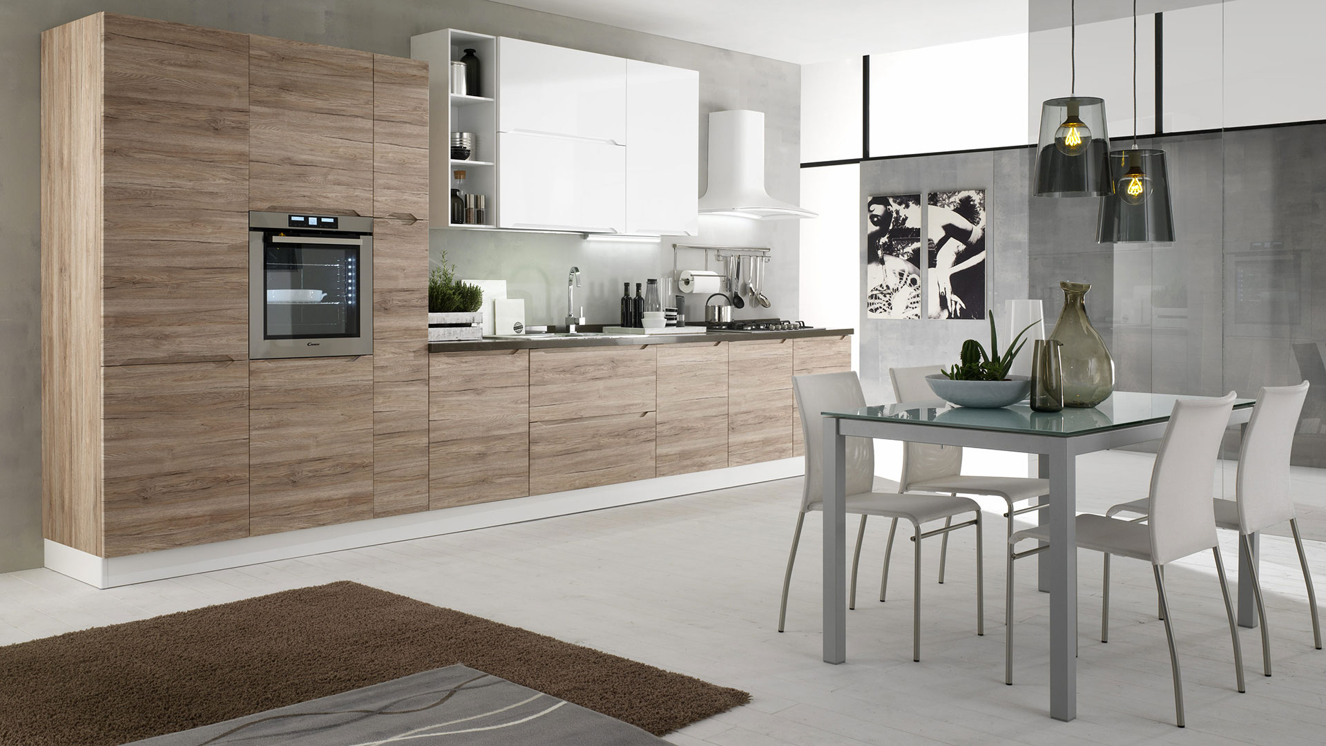 Evo cucine classiche e moderne made in italy sito ufficiale - Immagini di tende per cucina ...
