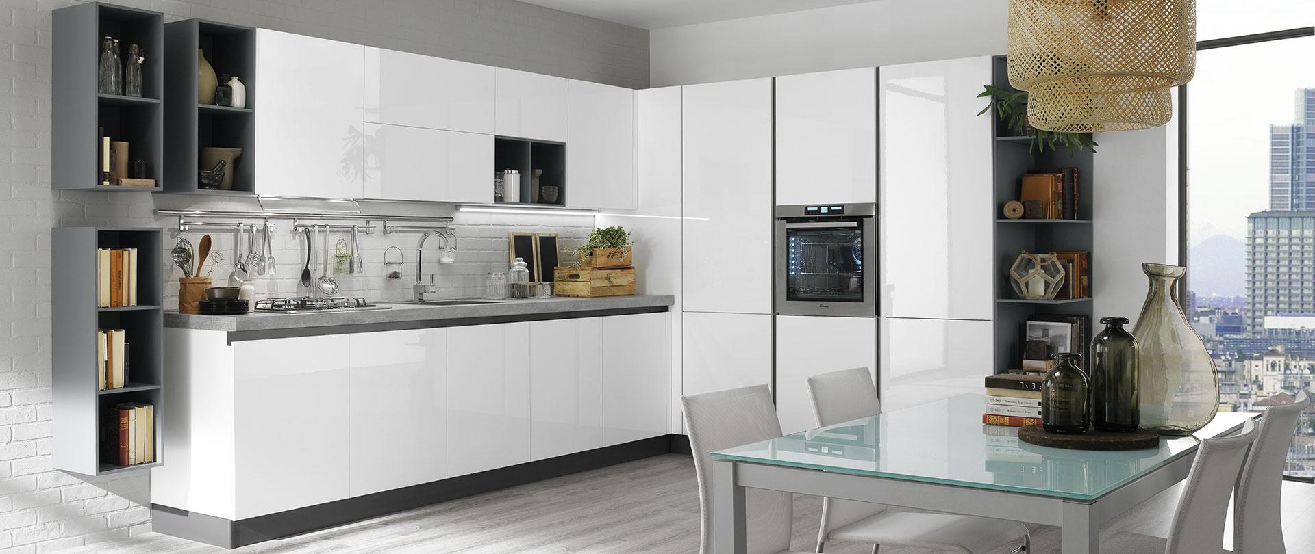Cucine moderne con gola | Korinna | EVO Cucine