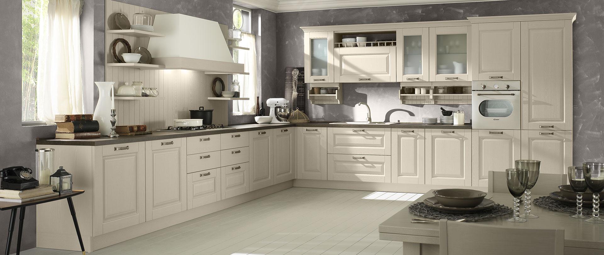 Cucine classiche in legno massello | Telma | EVO Cucine