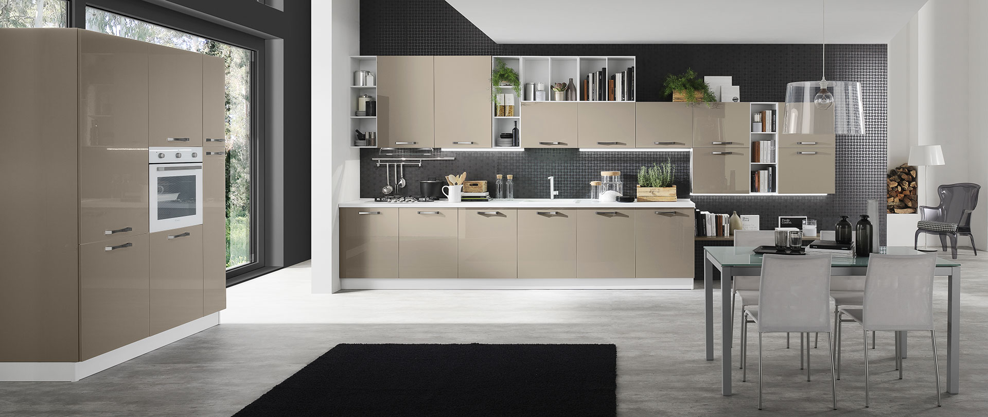 Cucine moderne color tortora ~ canlic for .
