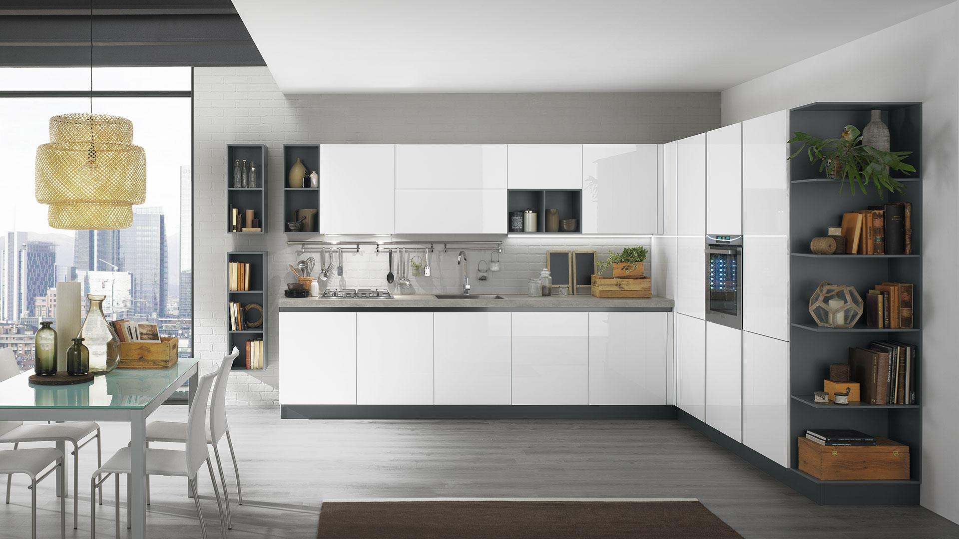 Cucine moderne con gola korinna evo cucine for Immagini per cucina