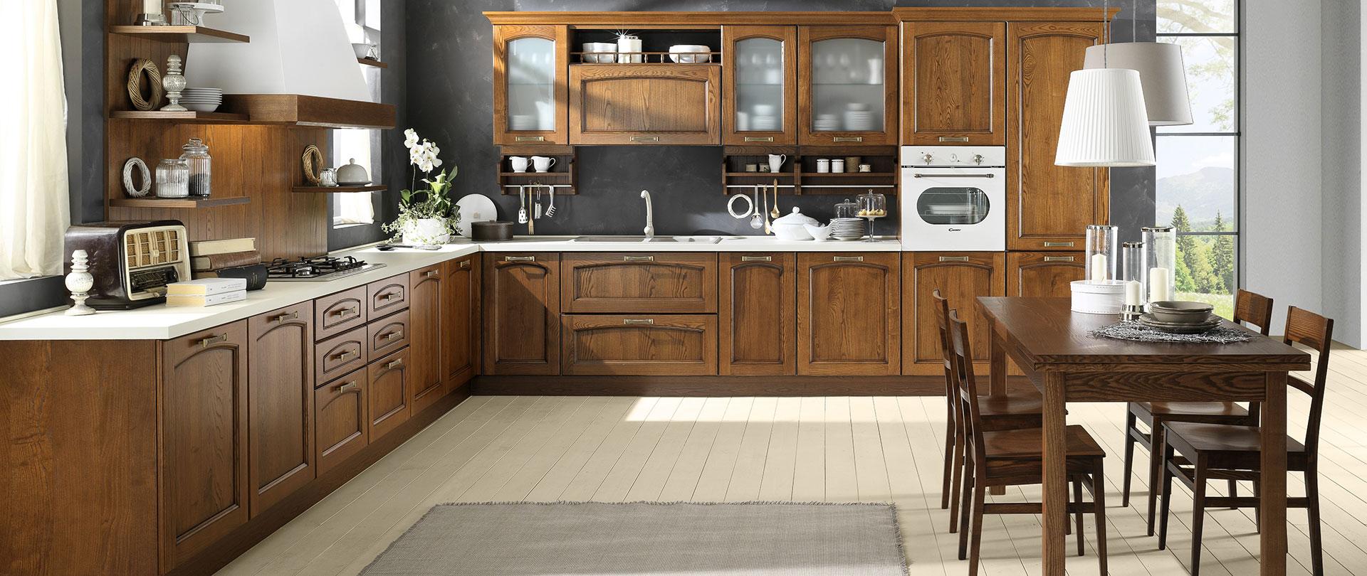 Cucine classiche in frassino | Memory | EVO Cucine