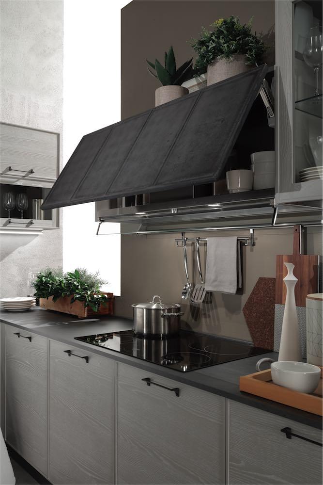 Cucina Moderna Quadra Cappa Ad Incasso Evo Cucine Sito ...