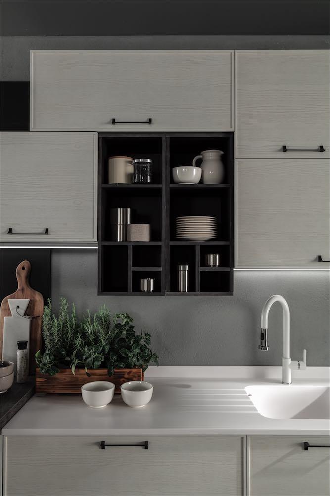 cucina-moderna-quadra-elementi-a-giorno - EVO Cucine - Sito Web ...