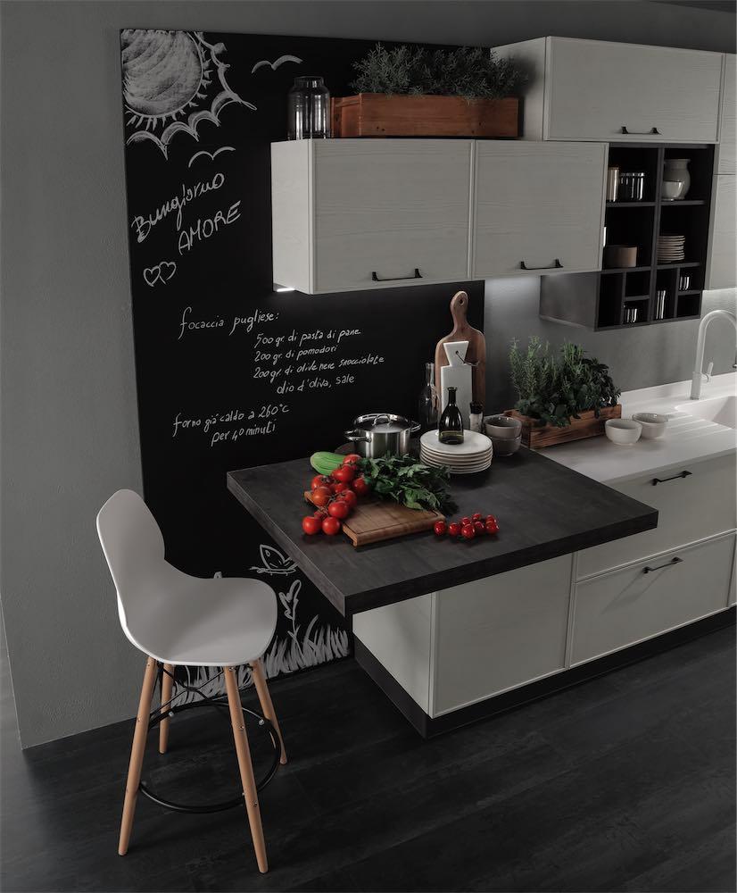 cucina-moderna-quadra-lavagna - EVO Cucine - Sito Web Ufficiale ...
