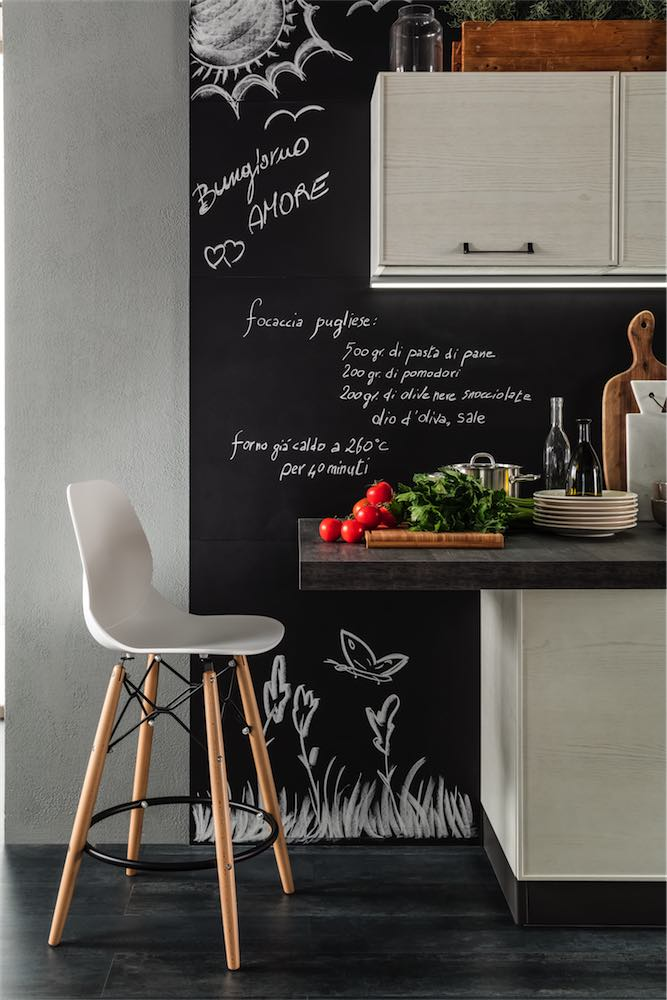 cucina-moderna-quadra-schienale-lavagna - EVO Cucine - Sito ...