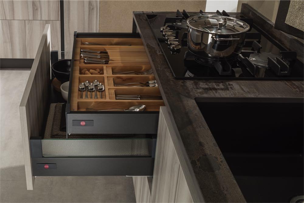 Cucina Moderna Sonora Dispensa Con Moduli Accessori Evo Cucine Sito Web Ufficiale Brand Di Gruppo Turi
